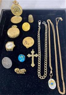 Jewelry/Watches/Buttons/Military/Thimble etc