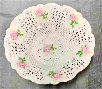K Collection Porcelain Hand Painted Bowl