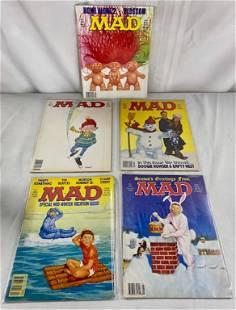 5 Vintage Mad Magazines