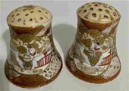 Nippon Royal Satsuma Salt & Pepper Shakers