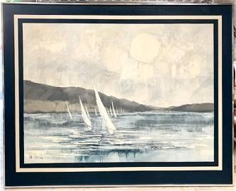 Large O/C Painting Signed Lee Reynolds