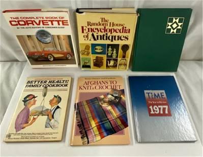 6 Assorted Vintage Books