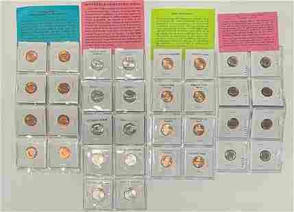 34 Collectible Coins