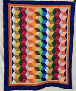 Small Quilt-Hand Quilted