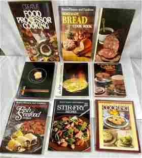 9 Vintage Cookbooks