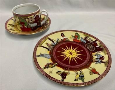 MOGA 3 Piece Tea Cup Set
