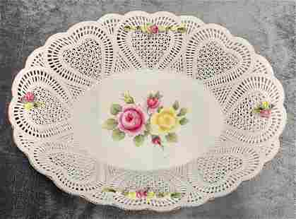 MOGA Romanian Porcelain Oval Bowl