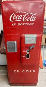 Coca Cola Machine-C51-A 1950's-1960's