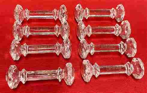 8 Crystal Knife Rests