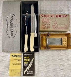 Magna-Wonder Knife and Cheese Slicer