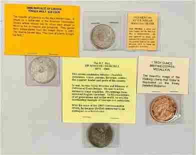 4 Collectable Coins
