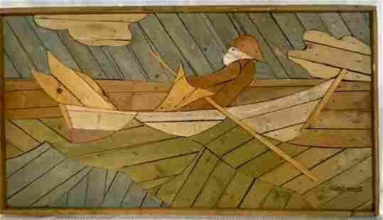 Lath Art - Signed Theodore deGroot