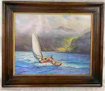 """Windward Passage"" Litho Will Woldt"