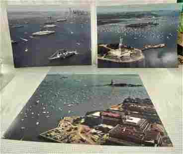Vintage 1986 Photographs of NY Harbor