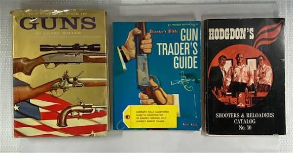 3 Vintage Gun Books