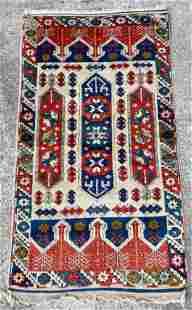 Small Woven Wool Rug
