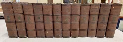 12 Volume Waverly Novels by Sir Walter Scott