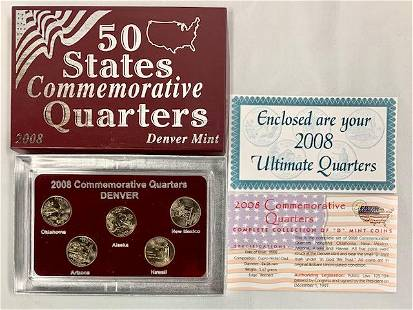 2008 Commemorative Quarter Set
