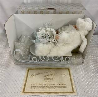 Heritage Signature Doll in sleigh #80015