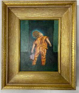 Pierre Beck Signed Oil on Board