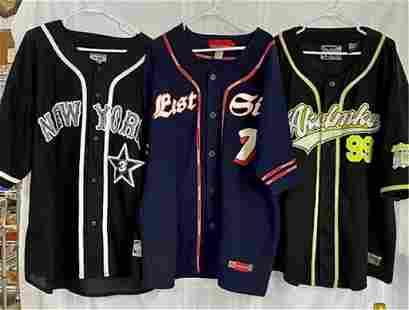 3 Baseball Style Jerseys