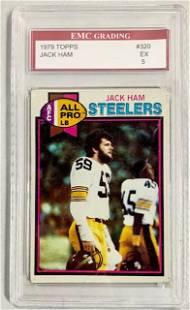 1979 Topps Graded Jack Ham Card