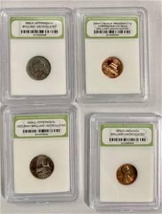 4 Collectible Coins
