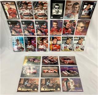 28 NASCAR Jeremy Mayfield Collectors Cards