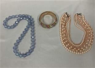 3 Pieces Costume Jewelry