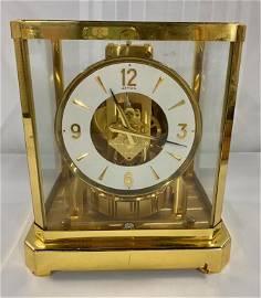 LeCoultre Atmos Brass & Glass Clock
