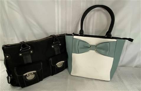 2 Designer Hand Bags- Kathy Van Zeeland - Apt 9