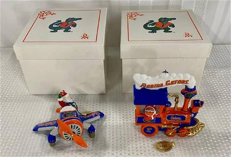 Florida Gator Ornaments - In Boxes