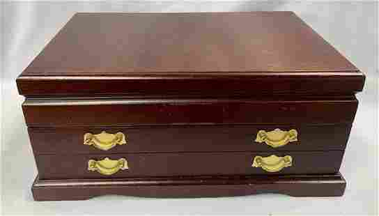 International Silver CO Jewelry Chest