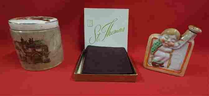 Marmalade Jar - Japan Flask - Brass Stays