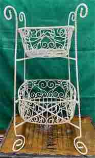 Wire Basket Stand