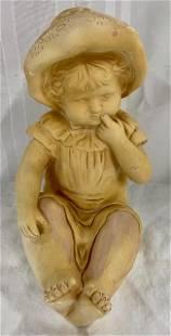 Plaster? Baby Sculpture