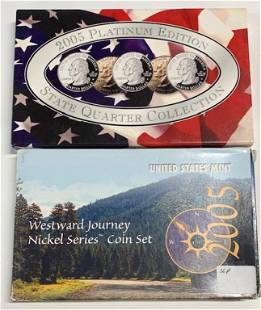 2 Collector Coin Sets