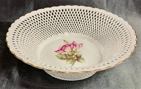 MOGA Hand Painted Romanian Bowl
