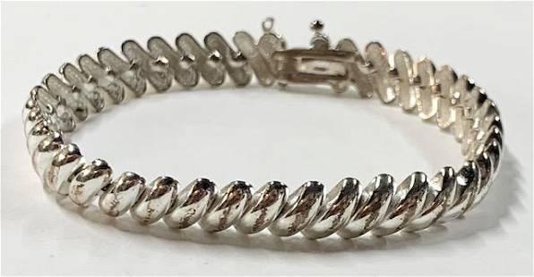 Sterling San Marco Link Bracelet
