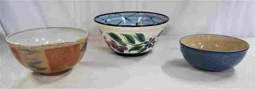 3 Collectible Bowls