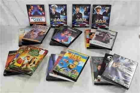 22 Assorted DVDs