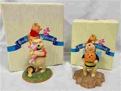 Pooh and Friends Figurines w/Boxes