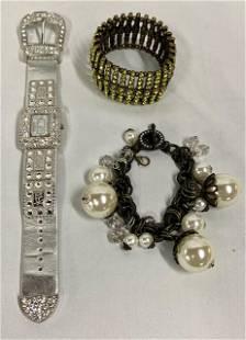 3 Pieces of Costume Jewelry