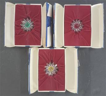 Swarovski Flowers in Original Boxes