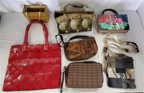 7 Assorted Collectible Purses