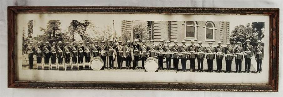 Vintage Yard Picture - Jefferson Post - Band