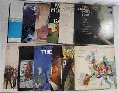 12 Vintage Used Albums