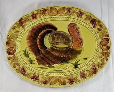 Oval Turkey Platter