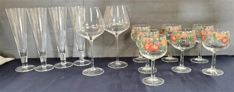 13 Assorted Glasses-Franciscan-Ullo