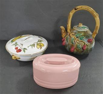 3 Pcs of Collectible Porcelain Dishes